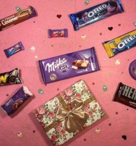 Подарочные наборы европейских сладостей!