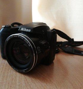 Семейный фотоаппарат nikon coolpix l120