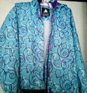 Куртка мембранная на девочку рост 152