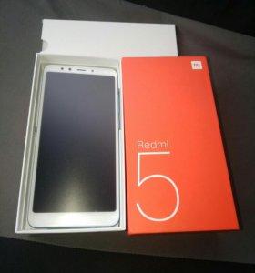 Новый Xiaomi Redmi 5 3x32. 18:9
