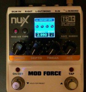 Гитарная Педаль NUX MOD FORCE👍🏻 (новая)