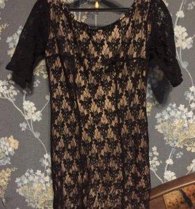 Гипюровое платье мини Pimkie
