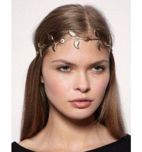 Asos ободок (ожерелье на голову) новое
