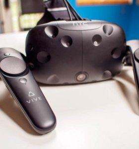HTC vive (шлем виртуальной реальности)