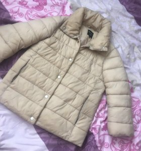 Куртка осень весна, рукав три четверти, размер 42
