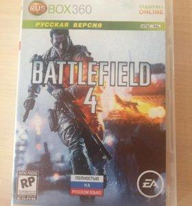 Игра BATTLEFIELD 4 на Xbox 360