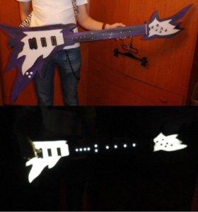 Гитара с подсветкой