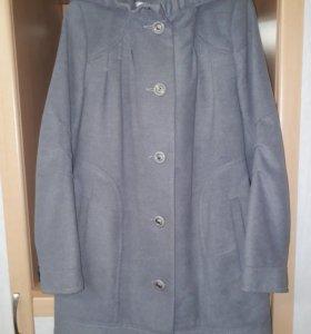 Драповое пальто 46-48 р