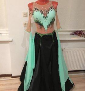 Платье для бальных танцев стандарт Ю2