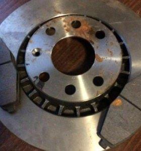 Тормозные диски 13 радиус. Новые.
