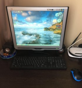 Компьютер(системник, монитор, клавиатура, мышь)
