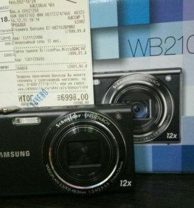 Фотокамера Samsung WB210 Black в коробке