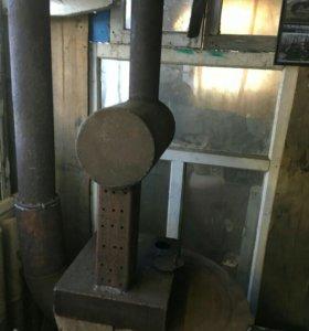 Печка в гараж масляная