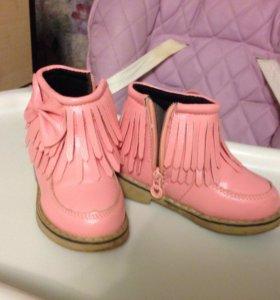 Ботинки для девочки 22 размер