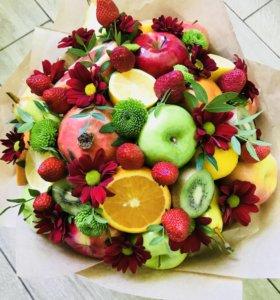 Букеты из фруктов!