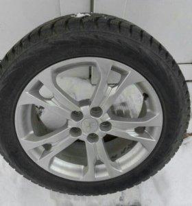 Комплект шины и диски  R18