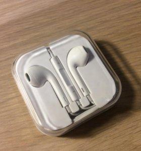 Наушники earpods iphone качественная КОПИЯ