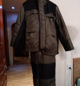 Зимний рыболовный костюм большой размер
