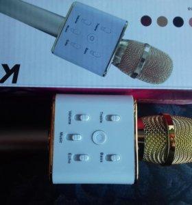 Безпроводной караоке микрофон Q7