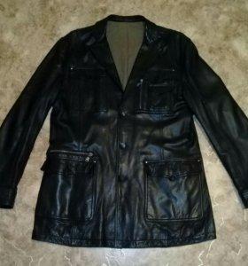 Куртка из шикарной кожи 1 раз б/у