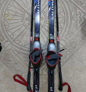 Лыжи для малышей с ботинками
