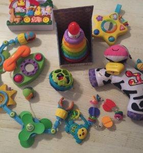 Фирменные музыкальные игрушки только пакетом