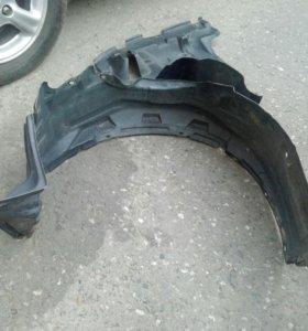 Подкрылок правый защита двигателя 2 шт калдина