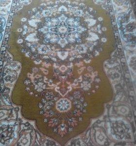 Натуральный шерстянной ковёр р1.5*2.5