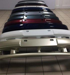 Бампер передний ваз 2113, 2114, 2115 в цвет кузова