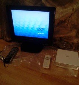 комбо LCD TV/DVD Toshiba 15SLDT2 + philips DVP4320