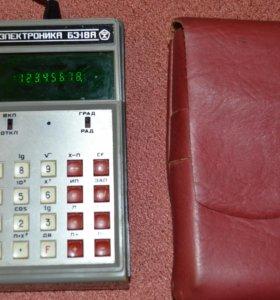 Калькулятор Электроника БЗ-18А