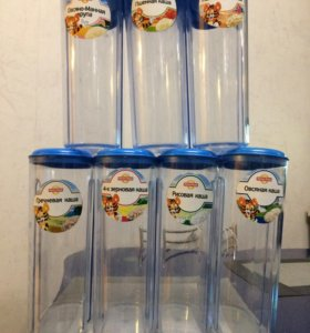 Набор емкостей для детских сыпучих продуктов