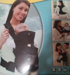 рюкзак -переноска для детей от 0 до 12 месяцев