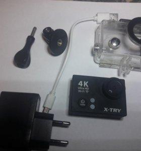 Экшн камера x-try xtc 150 ultrahd