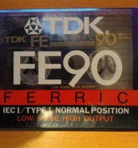 Аудиокассета TDK FE90