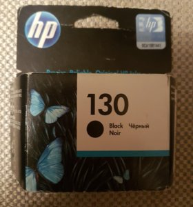 Картридж hp 130 black original