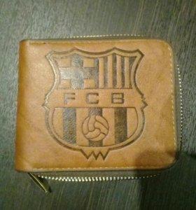 Кошелёк с логотипом FCB