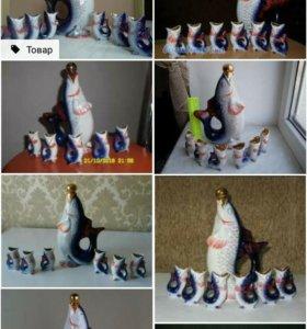 Рыбки набор сервиз