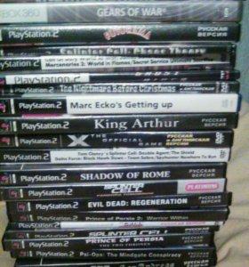 Диски с играми для Sony PlayStation 2