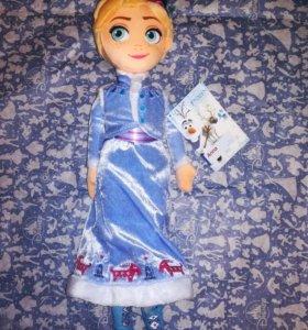 Мягкая кукла Анна 45 см Дисней