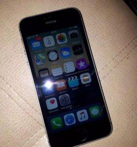 iPhone 5S 16Gb+ чехол аккум
