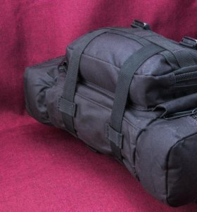 Тактический рюкзак с навесными подсумками