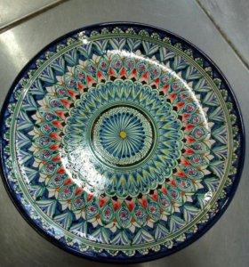 тарелки для плова узбекские ручная работа