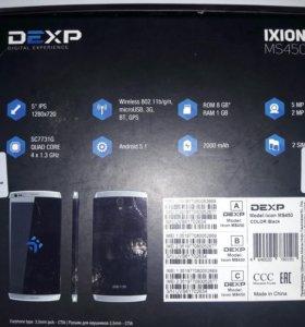 Телефон Dexp Ixsion Ms-450