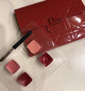 Палетка блесков для губ Dior пробник
