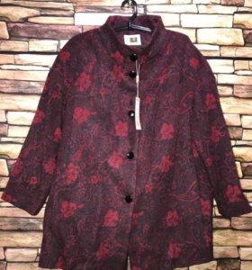 Новое пальто на синтепон 50-52 р