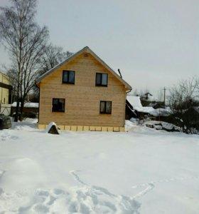Строительство каркасных домов, домов из бруса