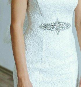 Свадебное платье 40-42, торг