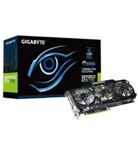 Видеокарта GIGABYTE nVidia GeForce GTX 770 4Гб