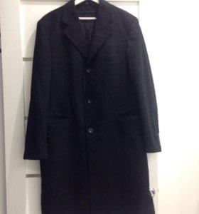 Мужское кашемировое пальто 52-54 р-р